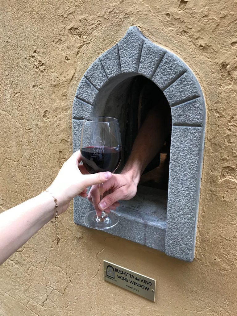 Janelas de vinho