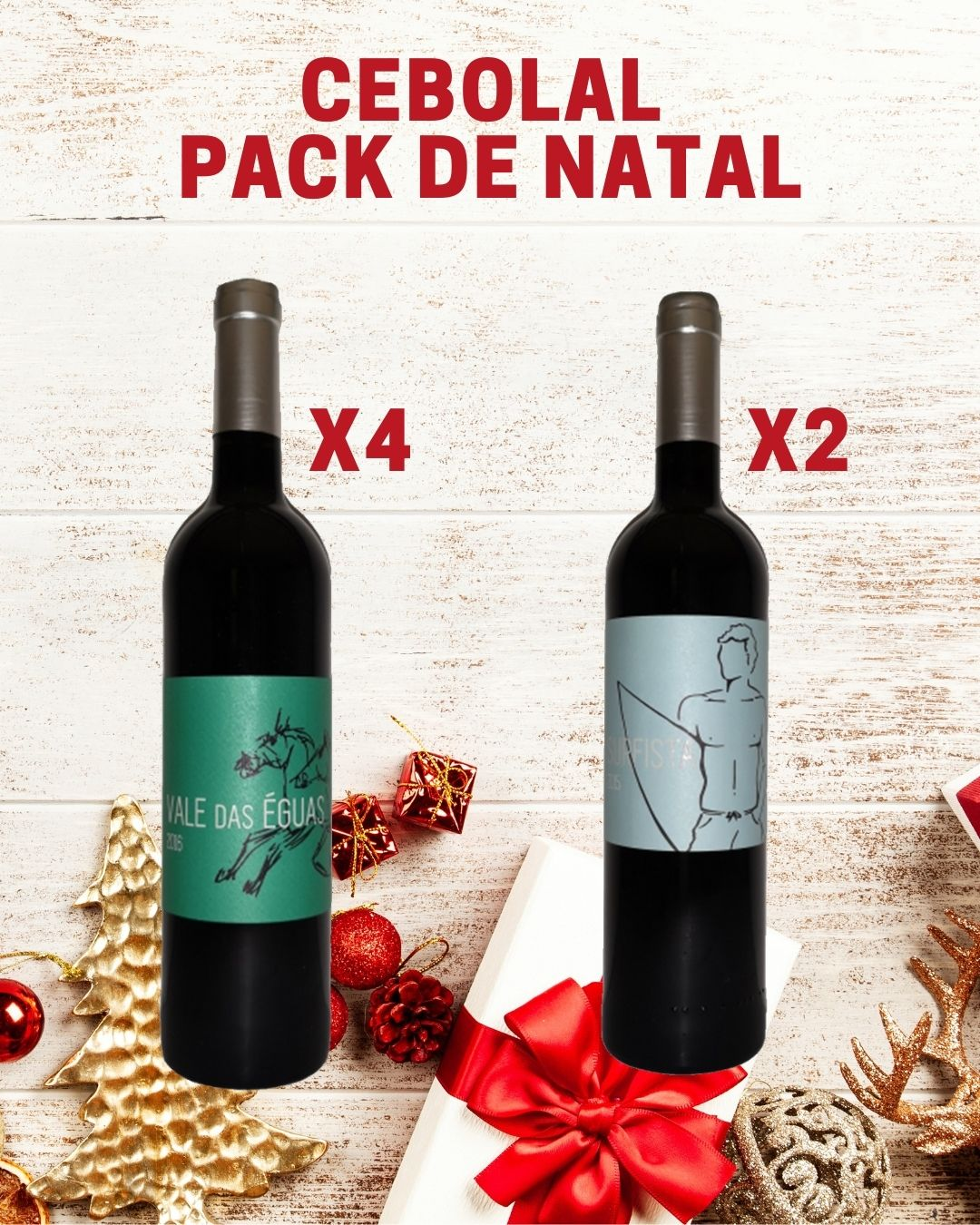 Cebolal Pack de Natal
