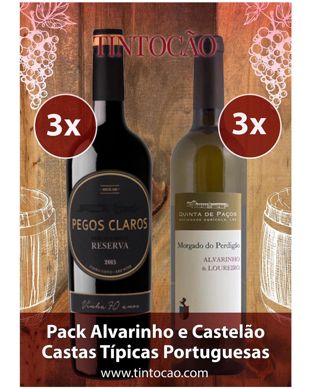 Alvarinho e Castelão Castas_portuguesas