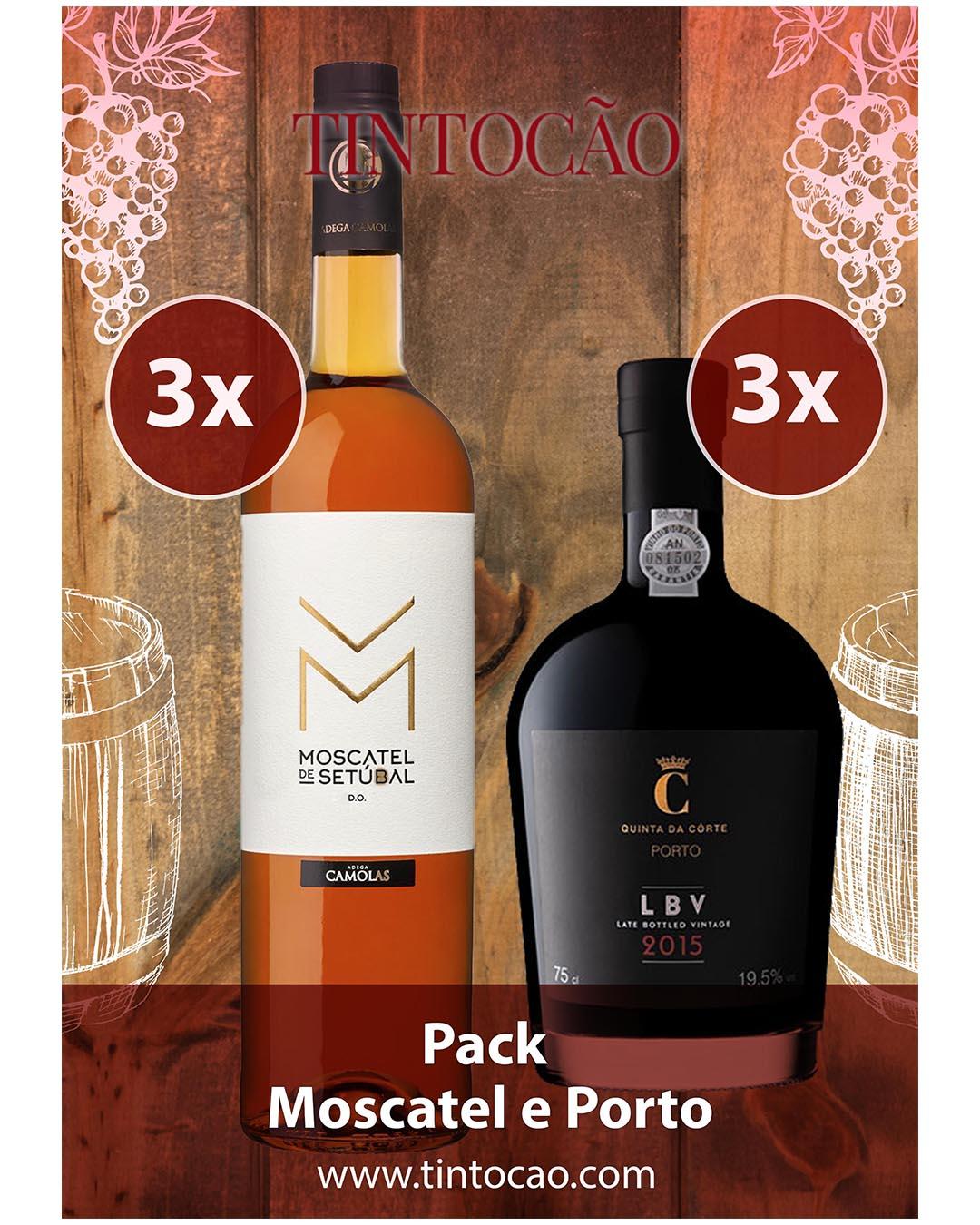 Pack Moscatel e Porto