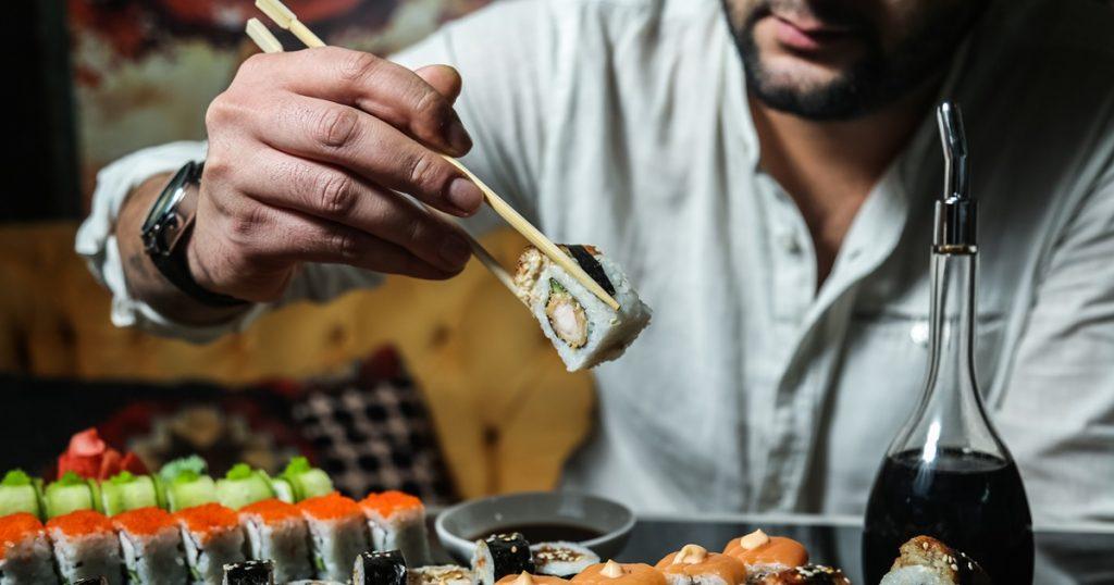melhor vinho para acompanhar com Sushi