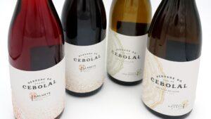 novos vinhos Herdade do Cebolal